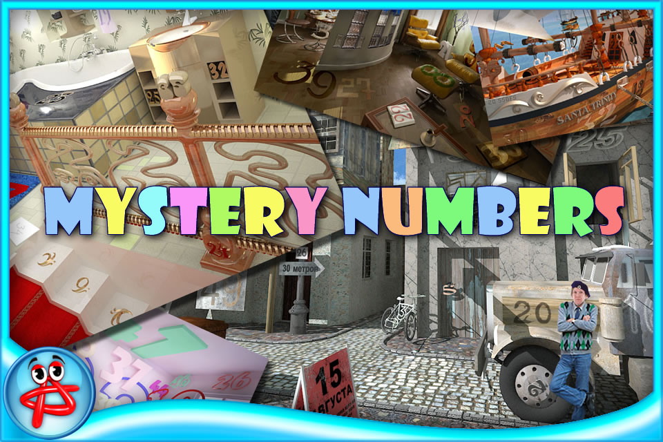 Screenshot Mystery Numbers: Free Hidden Object
