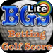 Betting Golf Score Lite
